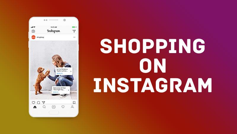 Instagramのシームレスなショッピング